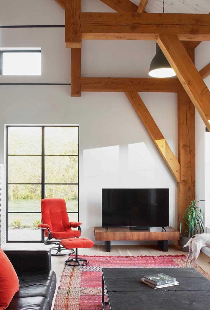 Conforto, funcionalidade e uma estética de arrasar!
