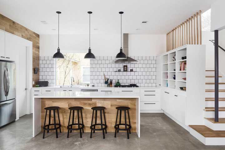 Cozinha americana: modelos, como montar e fotos inspiradoras