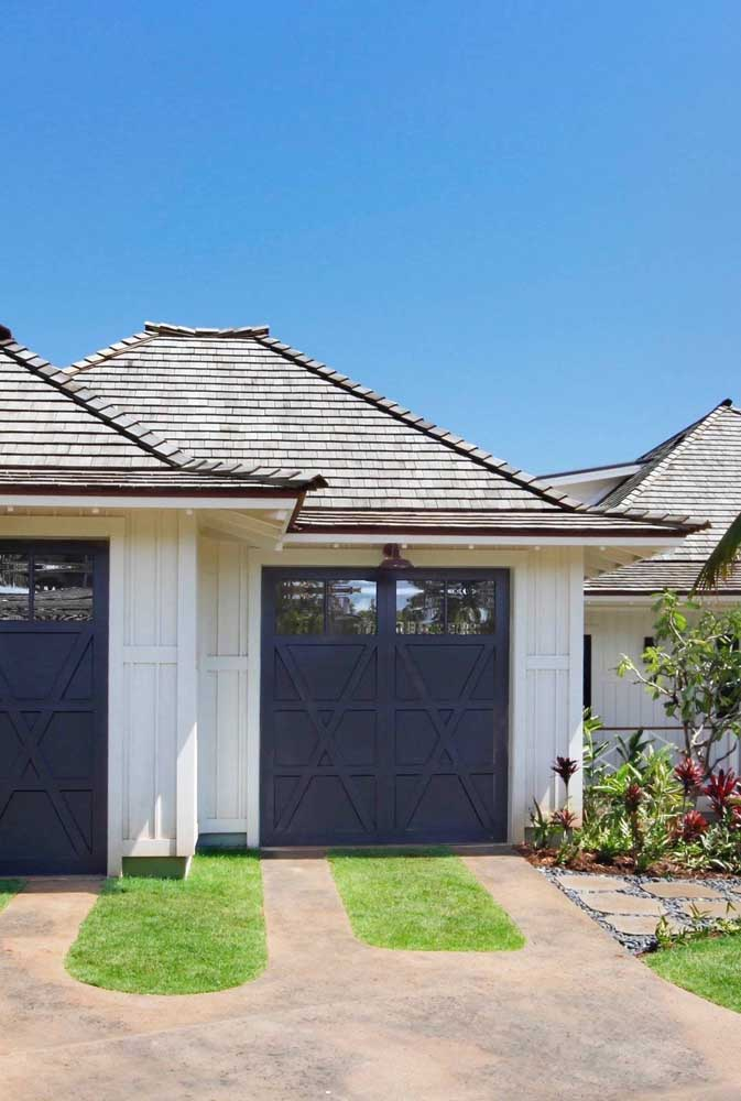 Casa simples e pequena com telha single