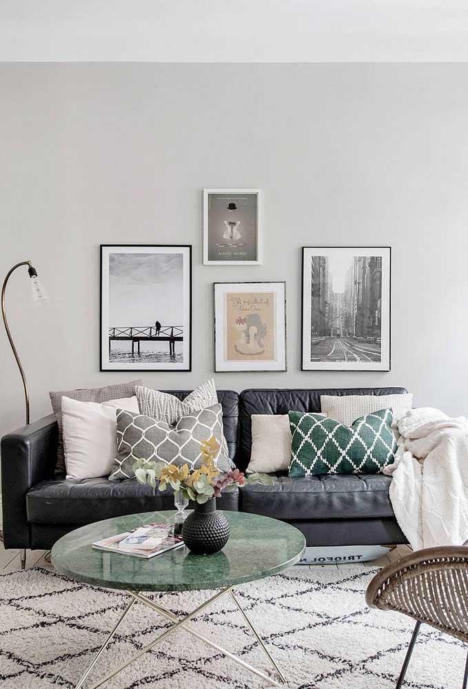 Não muito comum, o mármore verde pode ser um diferencial e tanto no seu projeto de interiores