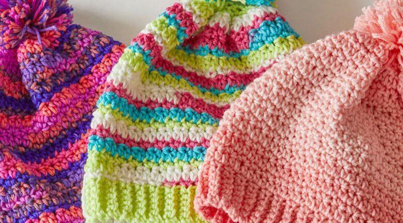 Touca de crochê: como fazer passo a passo e fotos inspiradoras