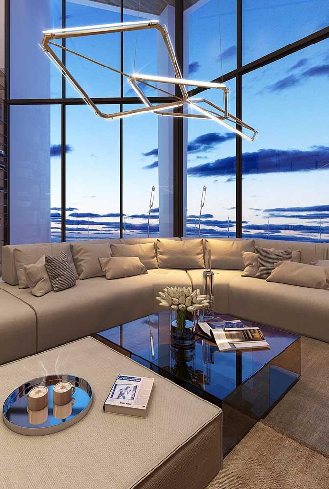 Pôr do sol em uma penthouse: você não vai querer mais nada na vida