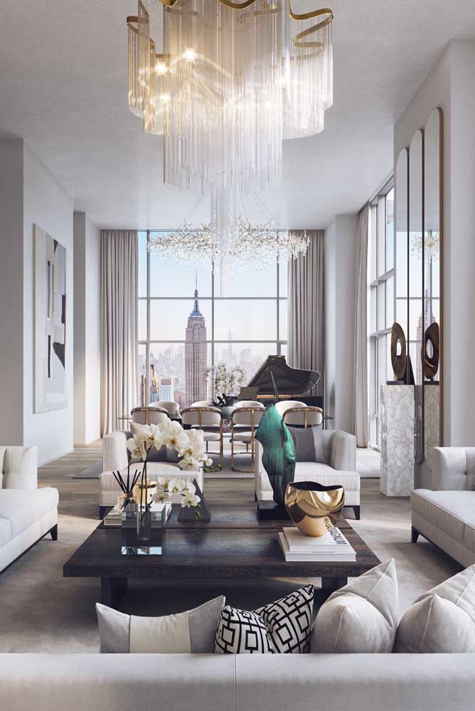 Luxuosidade combina com penthouse