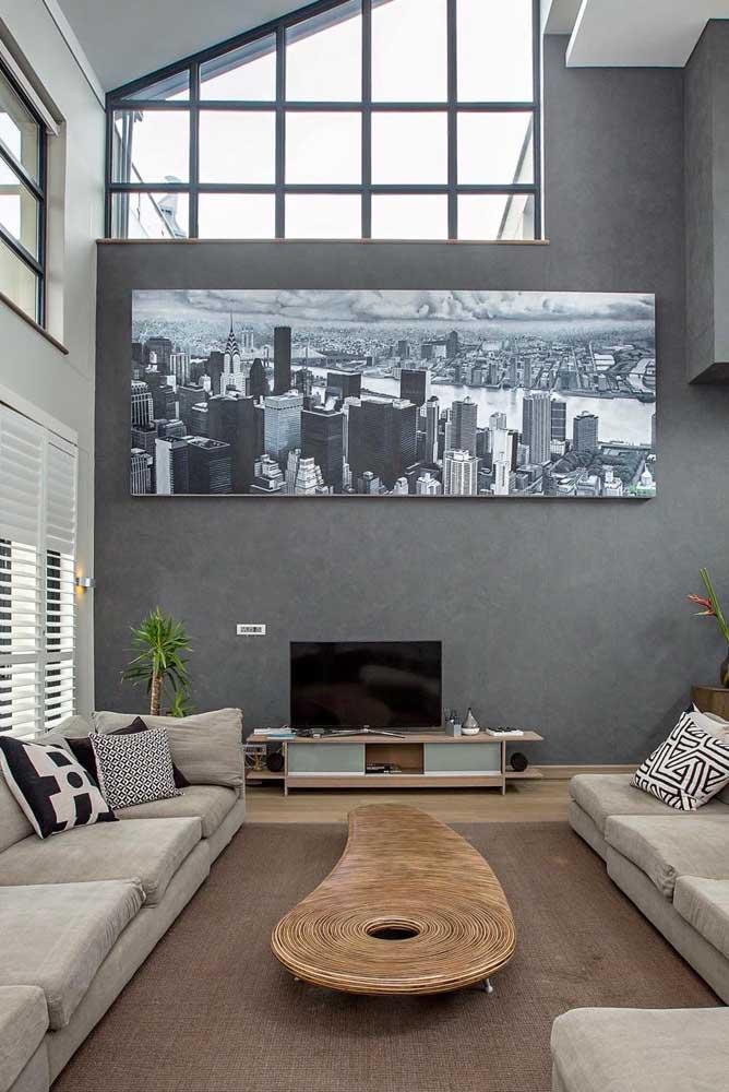 Se luxuosidade combina com penthouse, modernidade também não fica pra trás