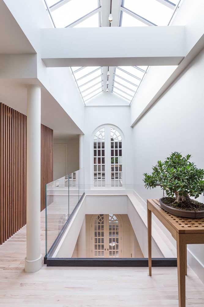 O estilo clássico predomina nesse projeto de penthouse