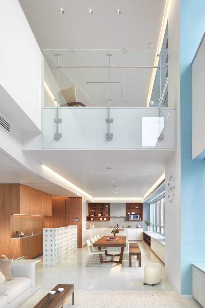 Podia ser um duplex, mas é uma penthouse maravilhosa!