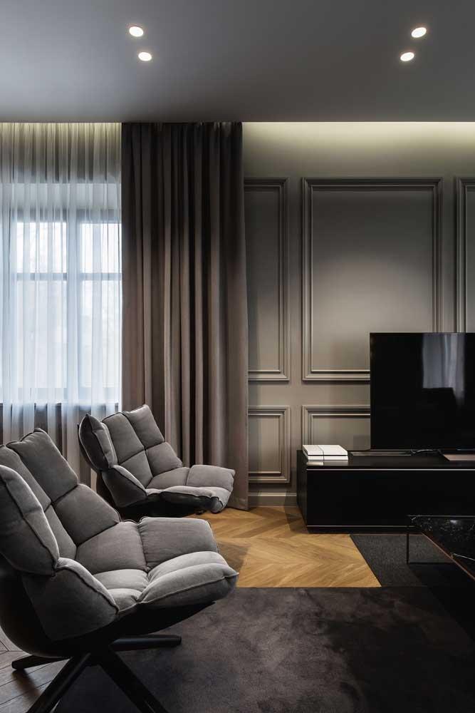 Poltronas giratórias para sala de estar: o máximo de conforto que você pode ter