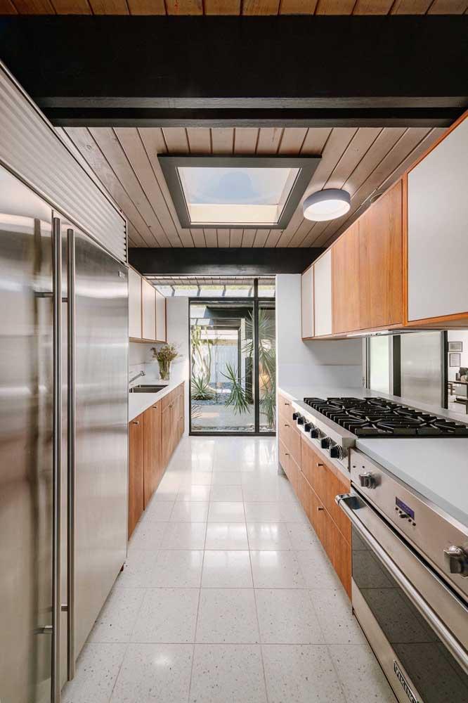 Eletrodomésticos proporcionais ao tamanho da cozinha