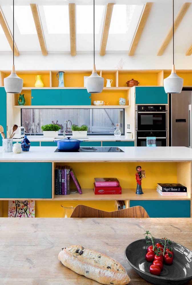 Colorida, alegre e moderna