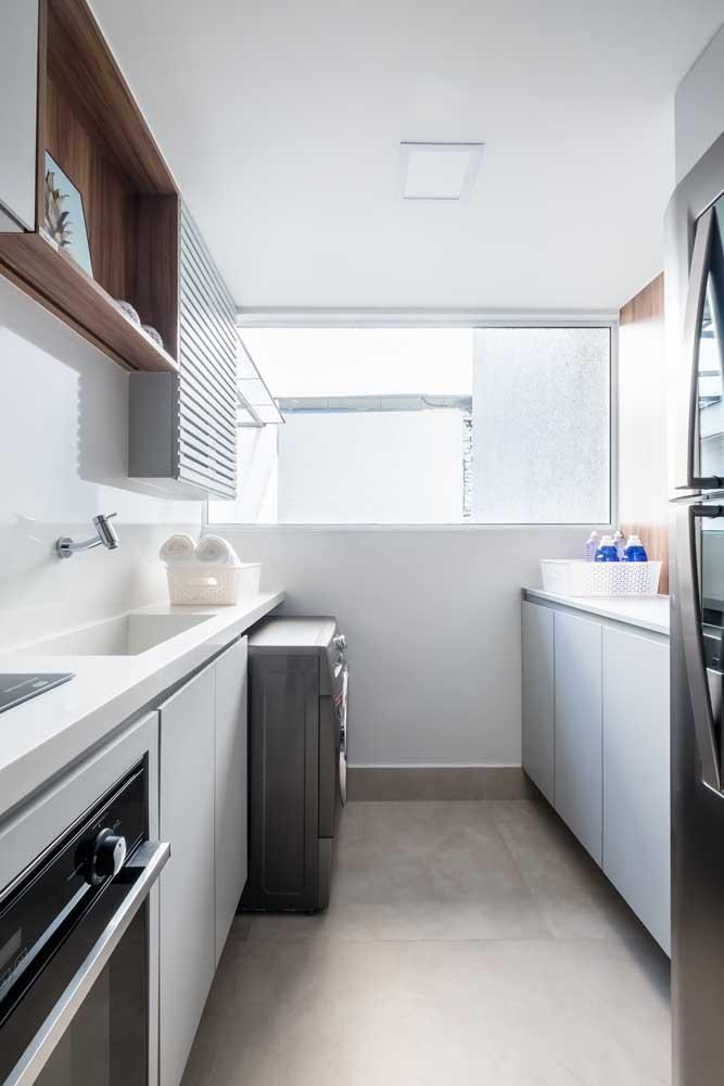Esquadria de alumínio na cozinha: ventilação total!