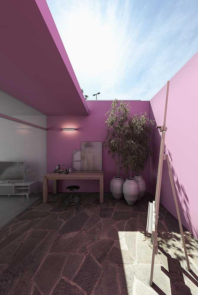 Que tal uma casa rosa para chamar de sua?