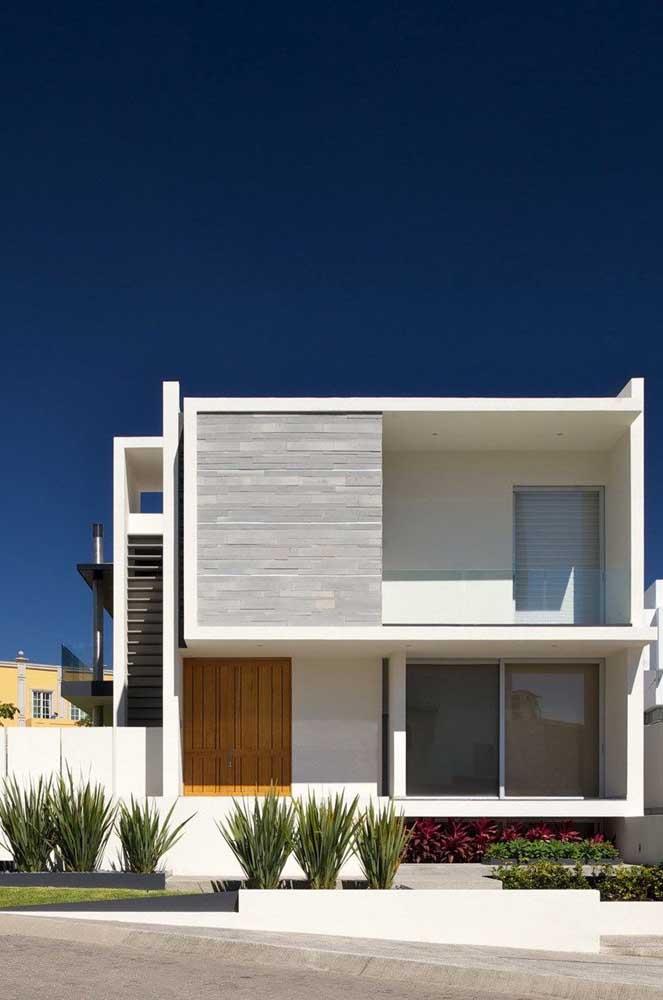 Branco e cinza para quem não quer errar na pintura da casa