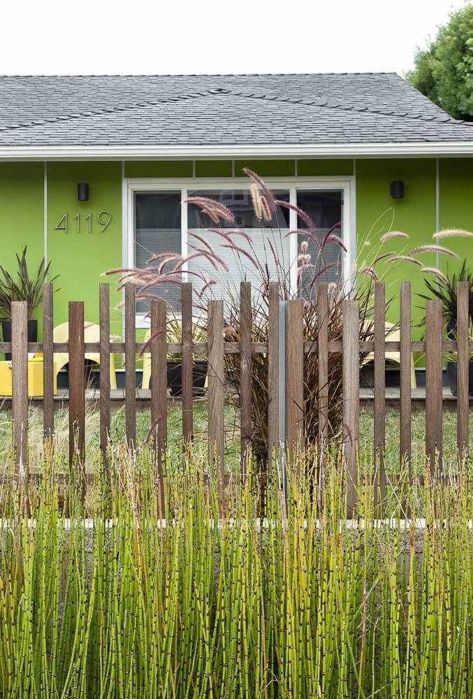 Mas se preferir, aposte no frescor de uma casa verde