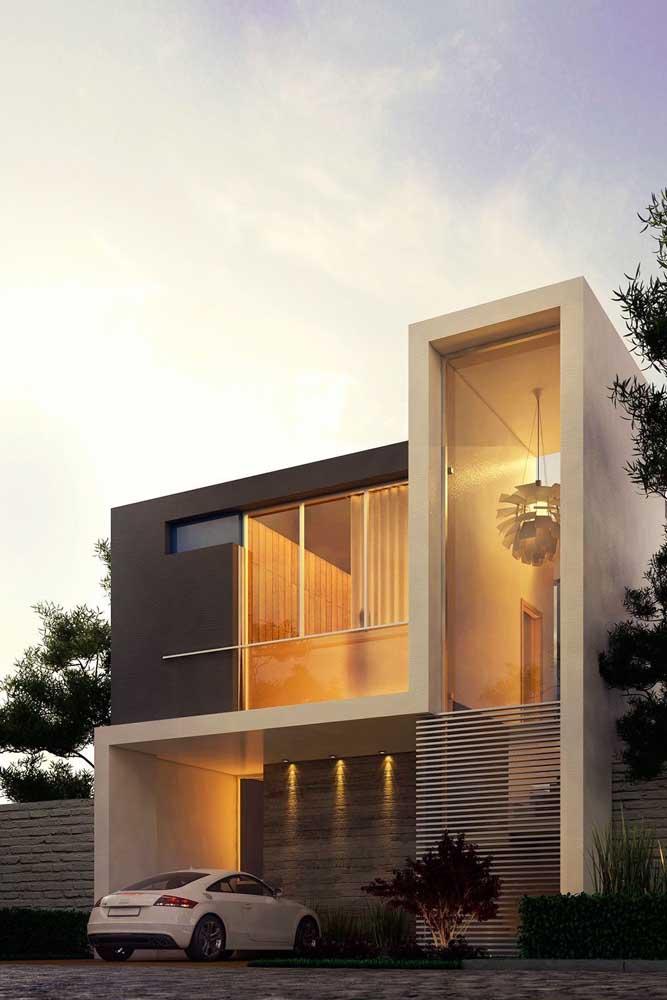 Na dúvida entre qual cor escolher para pintar a casa? Vá no tom sobre tom