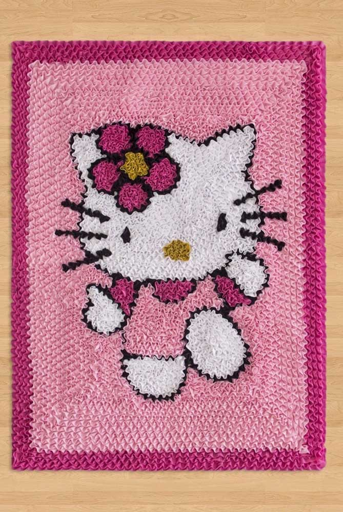 Já nesse outro modelo é a personagem Hello Kitty que se destaca
