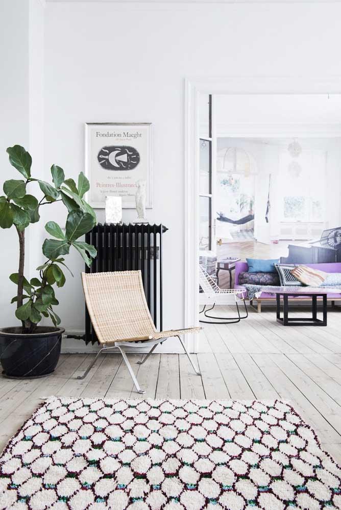 Tapete de frufru super moderno para arrasar na decoração