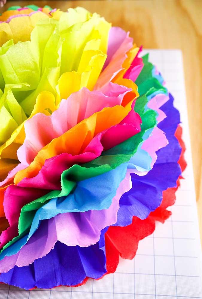 Um arco íris ou uma flor?