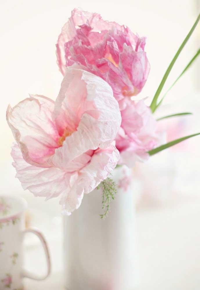 O realismo das flores de papel encanta e surpreende qualquer um