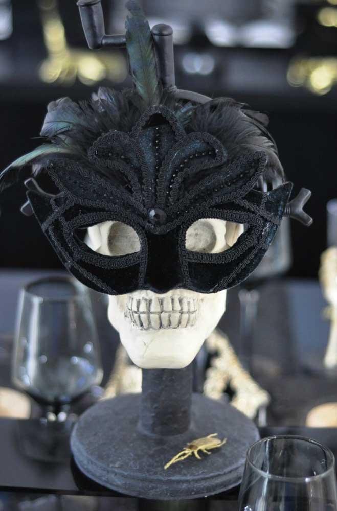 Máscaras e caveiras!