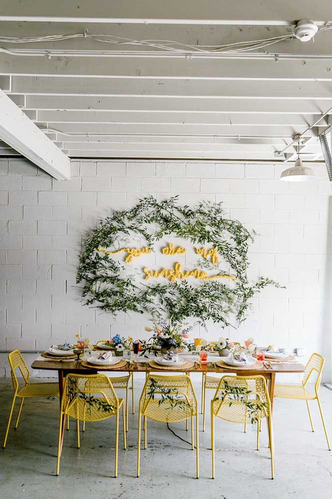 Um painel incrível para surpreender sua mãe no tradicional almoço de família