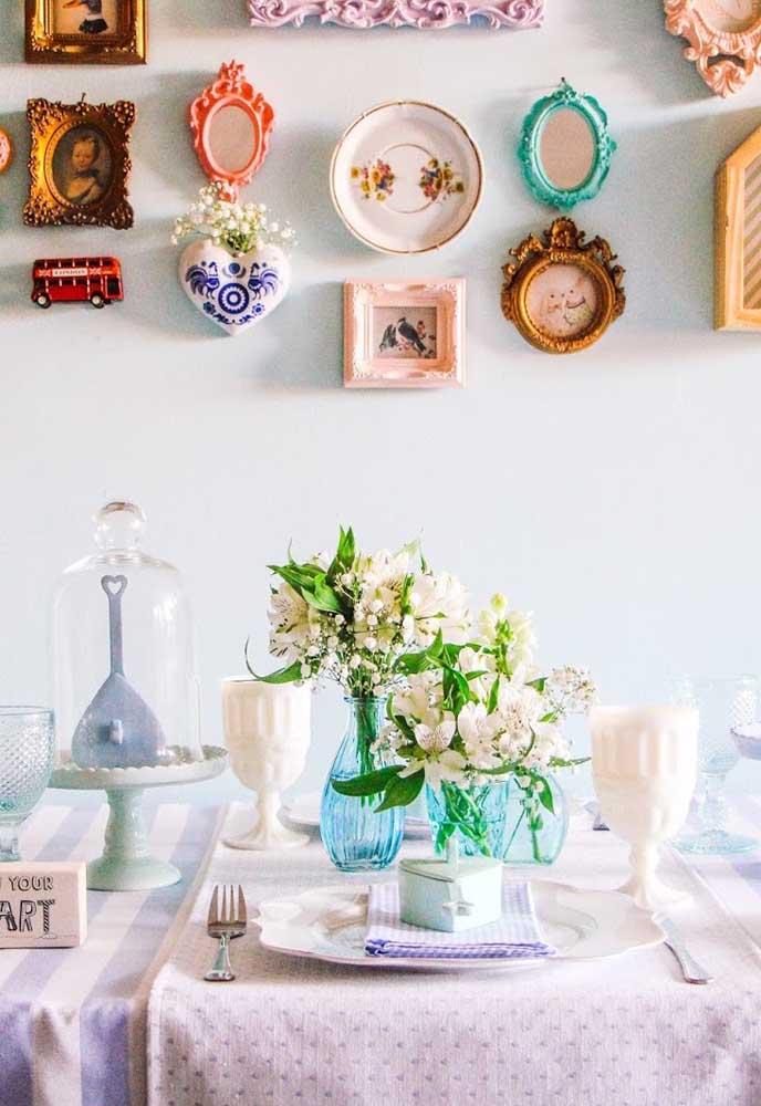 Reúna as relíquias da família e monte um painel de dia das mães com elas