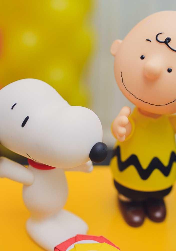 Snoopy e sua turma em versão pasta americana