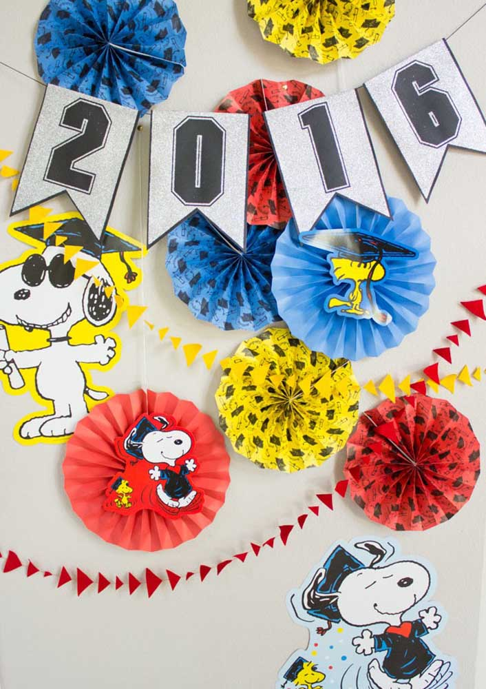 Snoopy e Woodstock: companheiros inseparáveis!