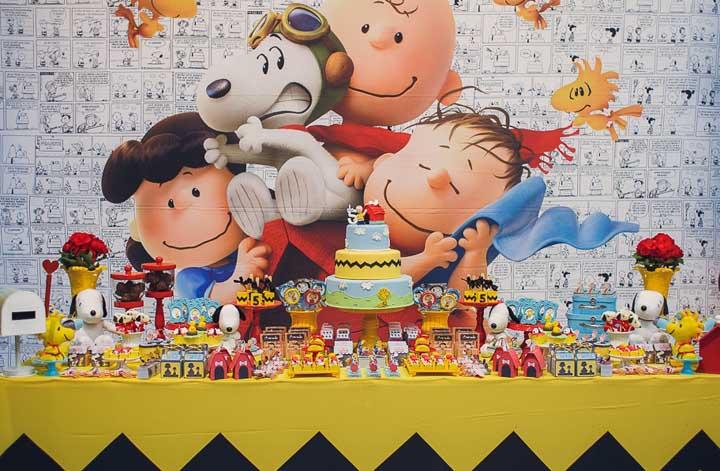 Festa Snoopy: personagens, 40 ideias incríveis e dicas para decorar