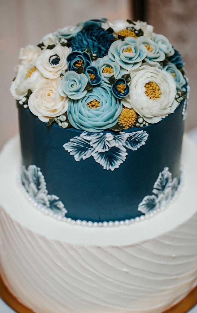 Um bolo ou uma obra de arte?