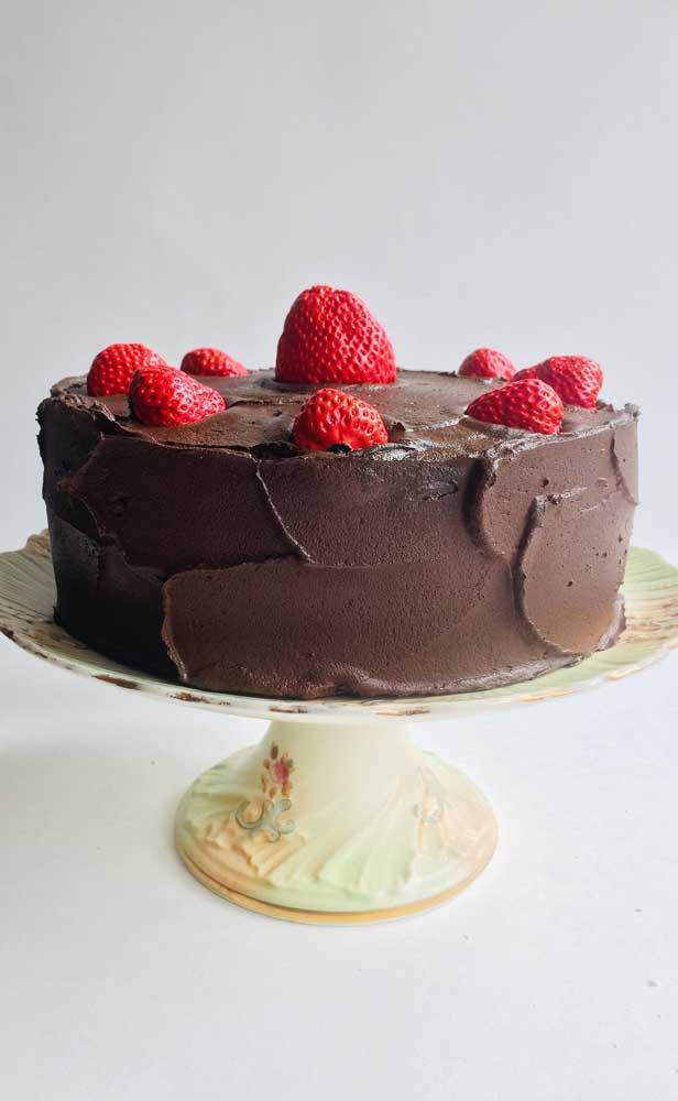 Vai ter muita gente na festa querendo dar uma provadinha nesse bolo!