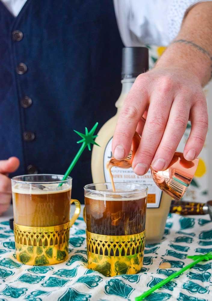 Anote essa sugestão de bebida para o Saint Patrick: café irlandês