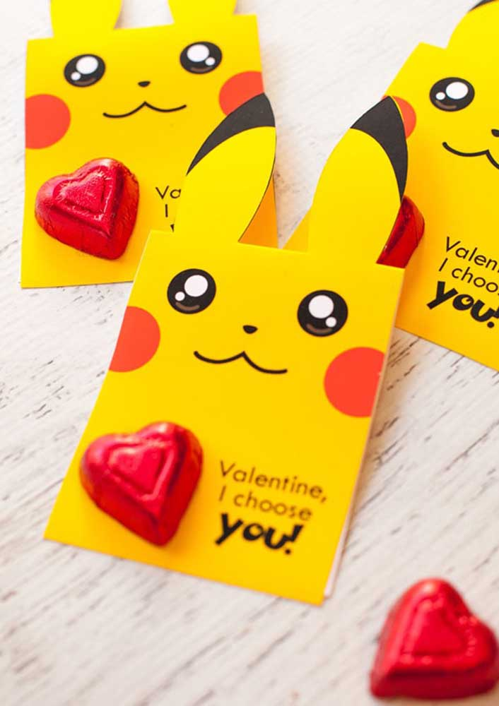 Você já pensou em uma festa do dia dos namorados inspirada no tema pokemon?