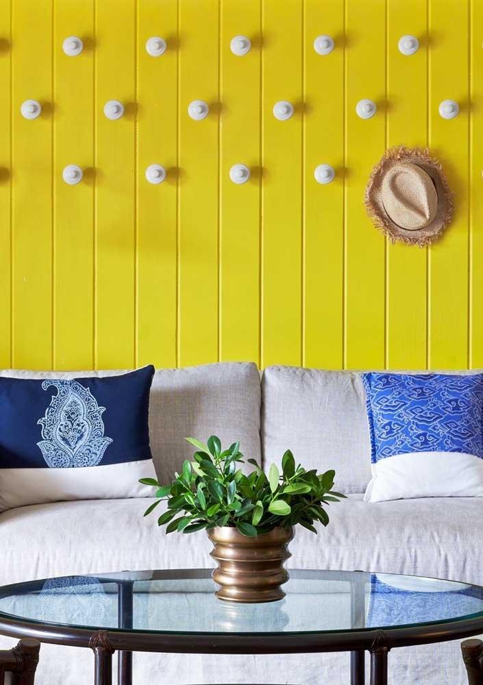 Amarelo, azul e branco!