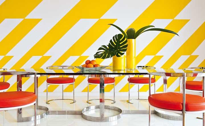 Sala amarela: como decorar, combinações e 50 fotos inspiradoras