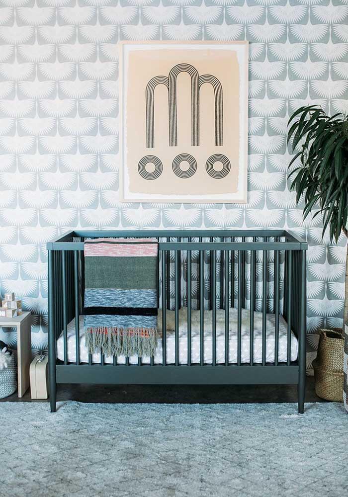 Inspiração étnica e natural para esse quarto de bebê masculino diferente e em tons criativos