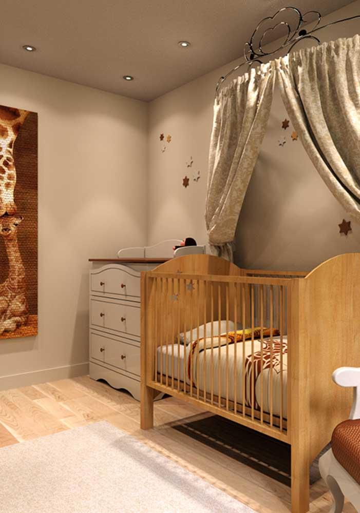 Quarto de bebê masculino decorado com pompa e luxo. Digno de um reizinho!