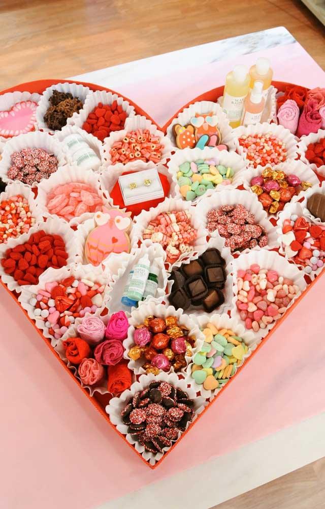 A boa e velha caixa de chocolates nunca decepciona
