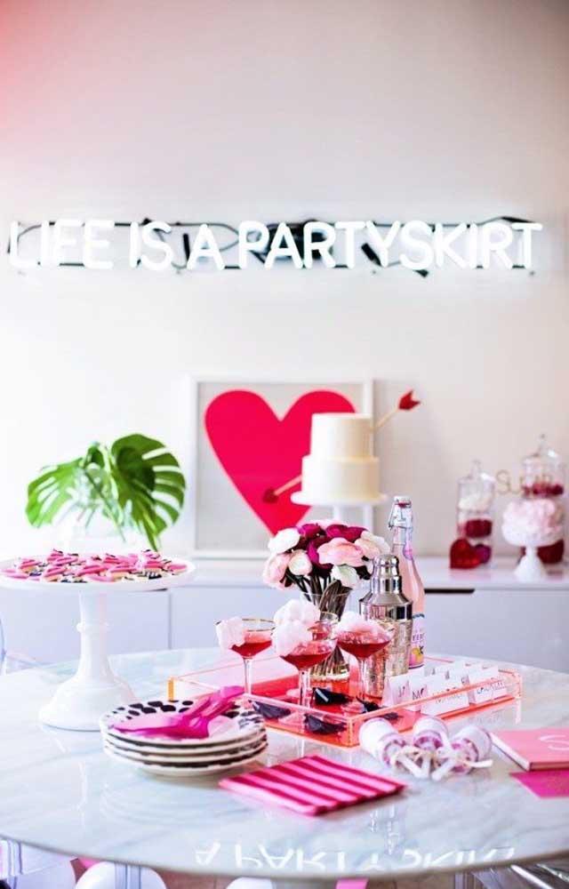 Festa surpresa para namorada: simples, mas super romântica