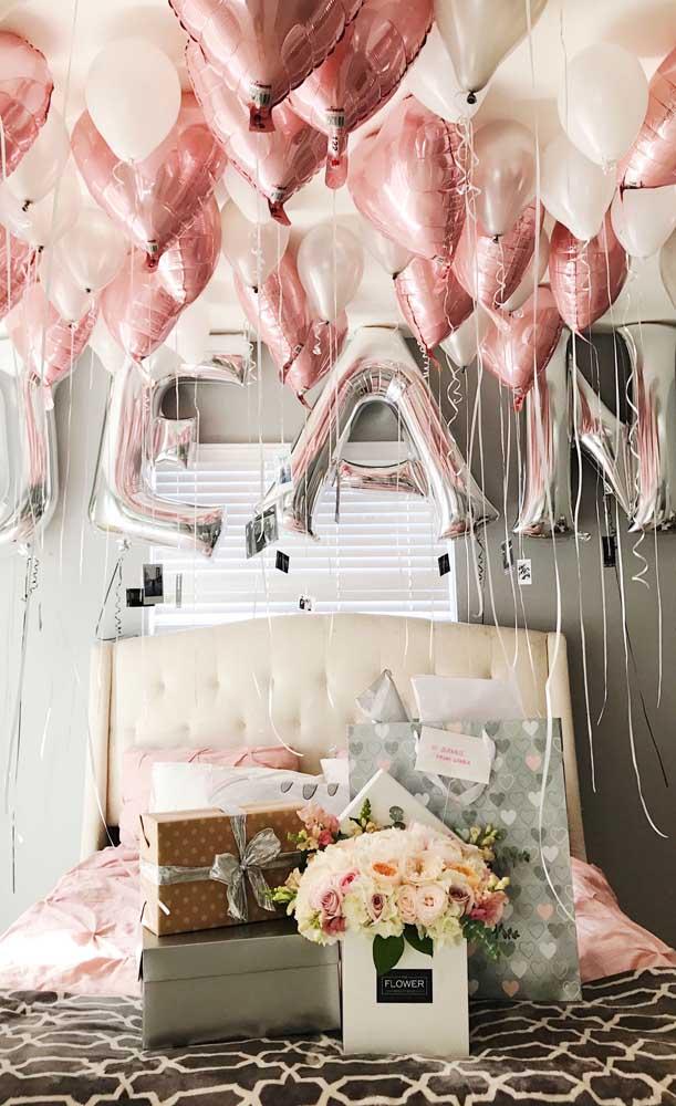 Quanto mais balões, melhor!