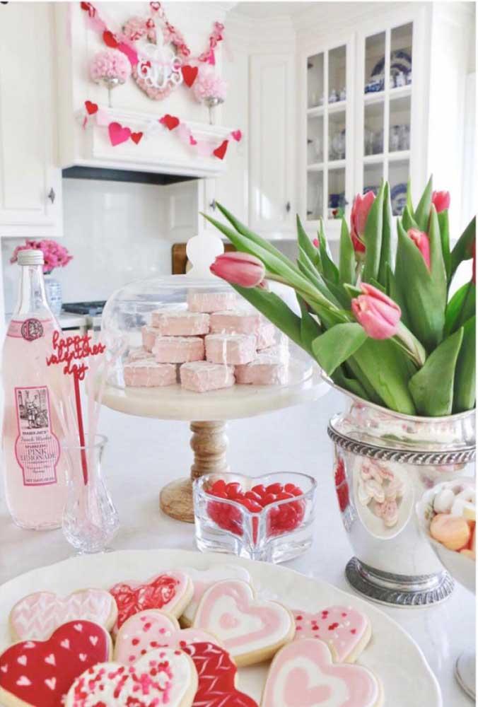 Vá para a cozinha e prepare doces lindos e deliciosos