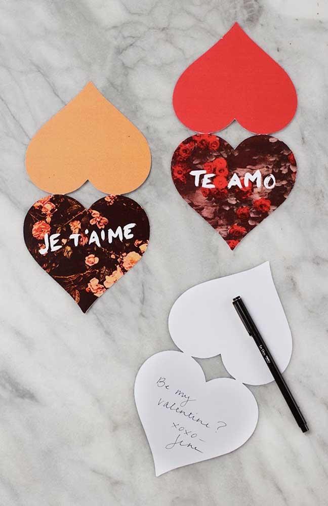 Expresse seu amor em diferentes idiomas