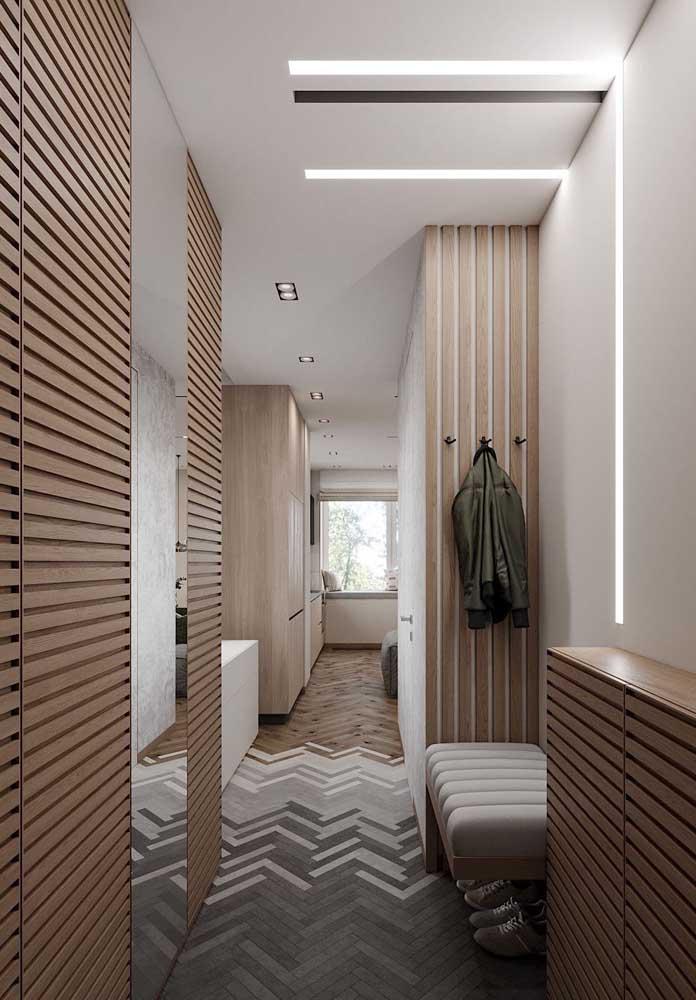 Paginações criativas para o piso.