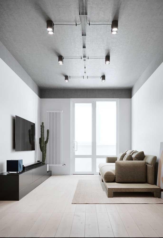 Um nova era de trilhos de iluminação, principalmente para o estilo industrial.