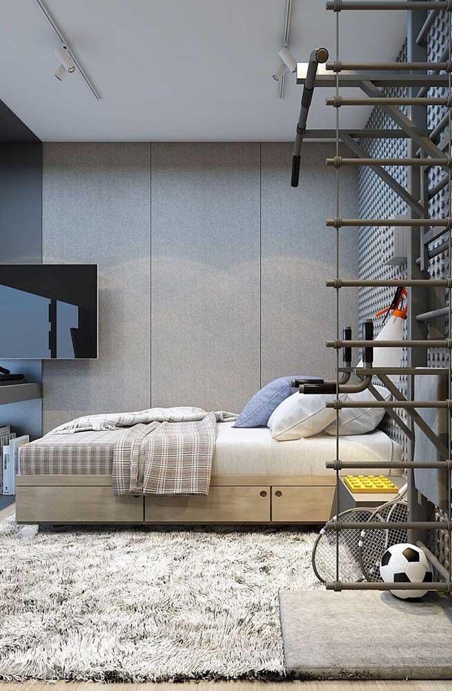 Conforto e acolhimento cabem em qualquer lugar, até nos menores dos quartos