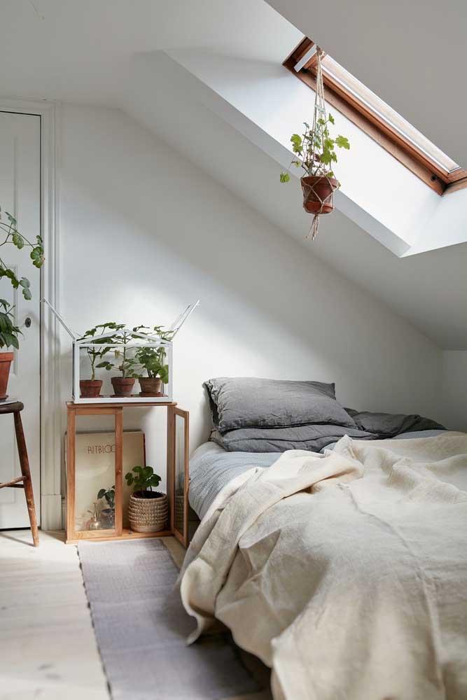 Sem janela no quarto? Faça uma claraboia!