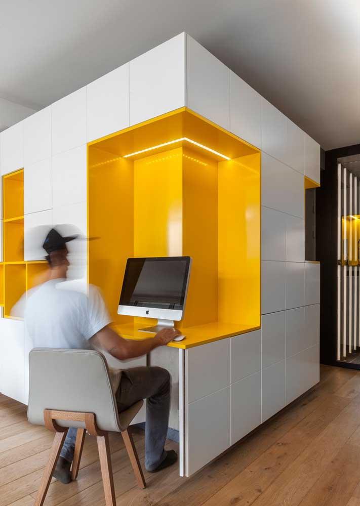 Na quina do corredor! Uma solução moderna e inteligente para aproveitar os espaços da casa