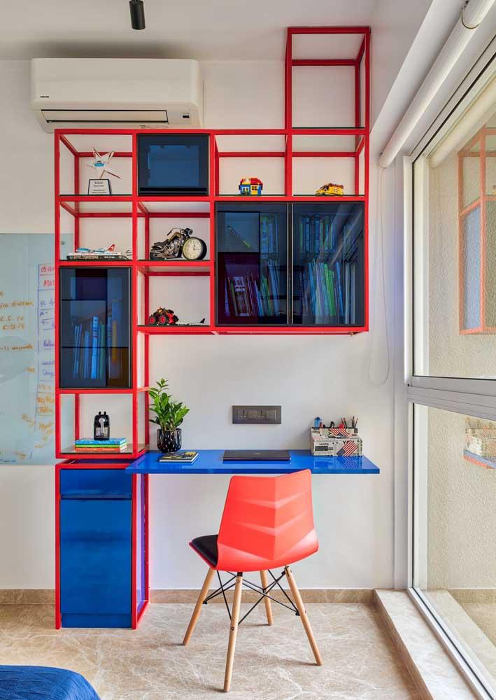 Suas cores favoritas para montar um escritório moderno e arrojado