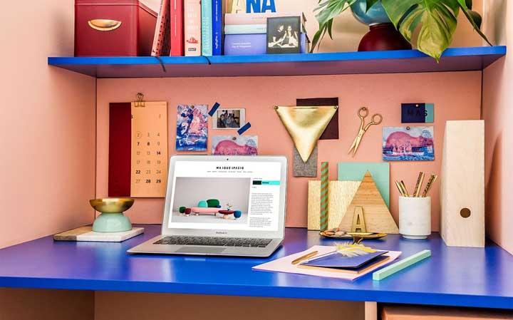 Escritório em casa: 50 dicas para montar o seu com perfeição