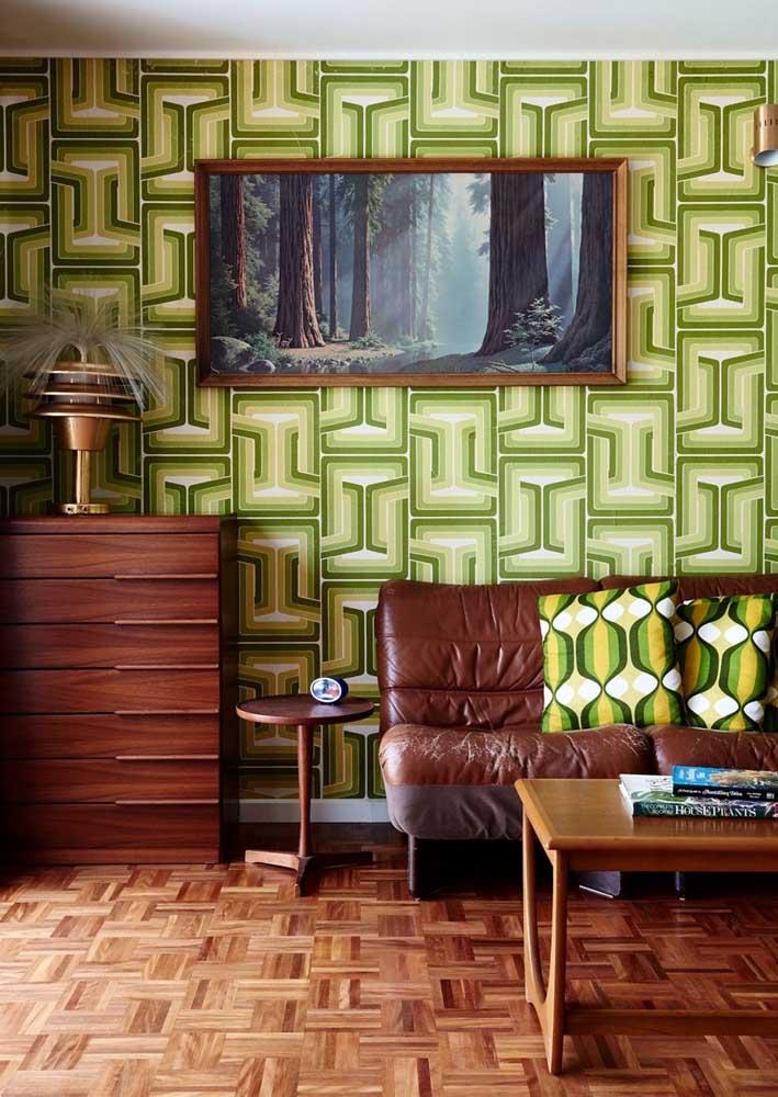 Verde também é vintage