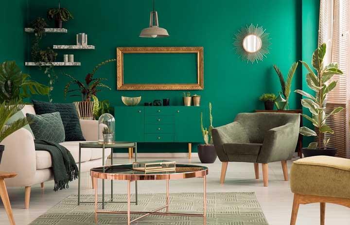 Sala verde: dicas essenciais para decorar, fotos e inspirações